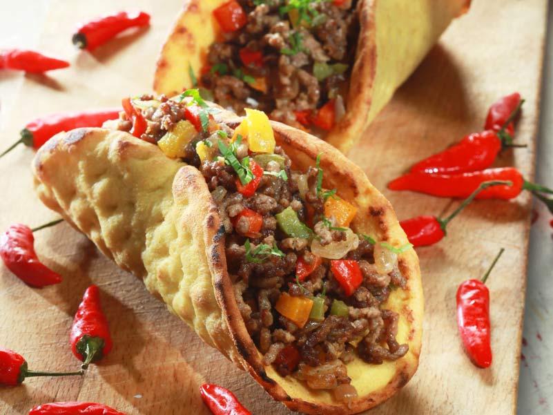 Καλαμποκόπιτα με χοιρινό κιμά