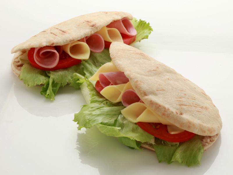 Pocket oval pita bread ELVIAR