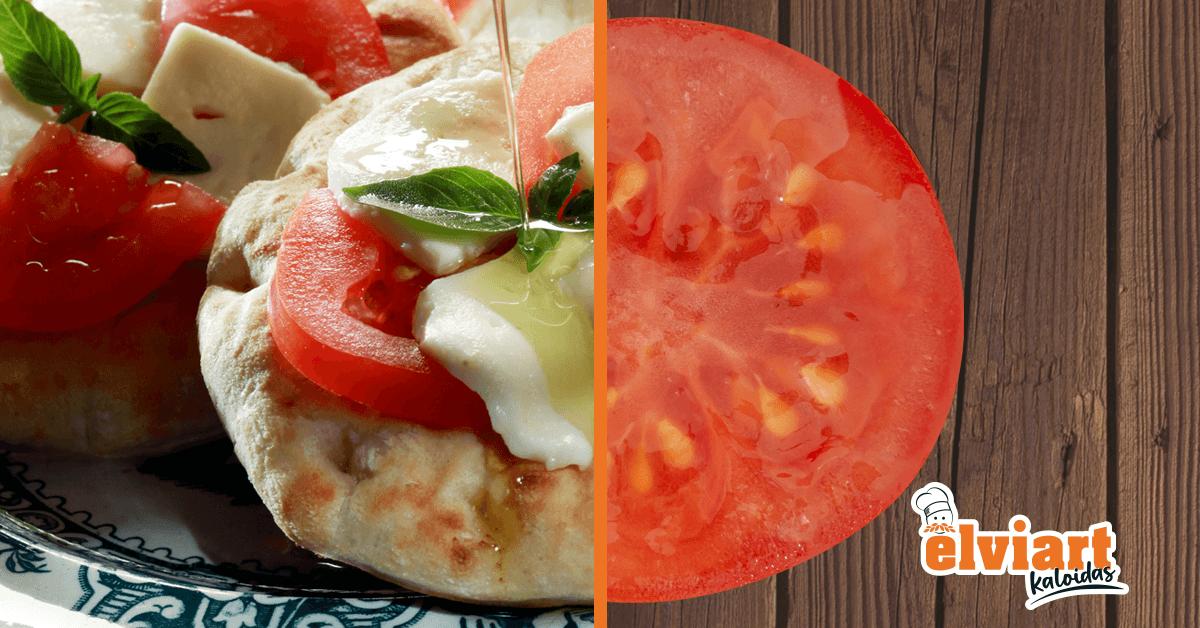 Ντομάτα με πίτα